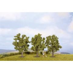 Kit alberi albero da frutto Altezza (min.): 45 mm Altezza (max.): 45 mm Verde 3 pz.