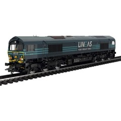 Locomotiva diesel H0 classe 66 del gruppo LINEAS