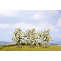 Kit alberi albero da frutto Altezza (min.): 45 mm Altezza (max.): 45 mm Bianco, Fiorente 3 pz.