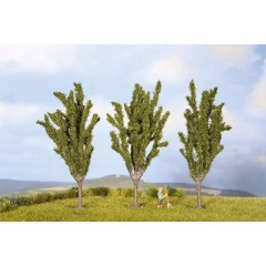 Kit alberi pioppi Altezza (min.): 55 mm Altezza (max.): 55 mm Verde 3 pz.