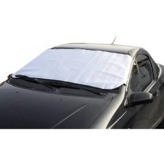 Copertura vetri auto superficie in alluminio, oscuramento (L x A) 145 cm x 70 cm Automobile Argento