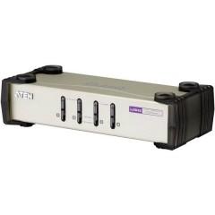 4 Porte Switch KVM VGA USB, PS/2 2048 x 1536 Pixel