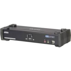 2 Porte Switch KVM DVI USB 2560 x 1600 Pixel