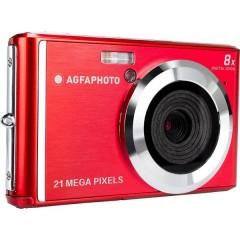 DC5200 Fotocamera digitale 21 MPixel Rosso, Argento