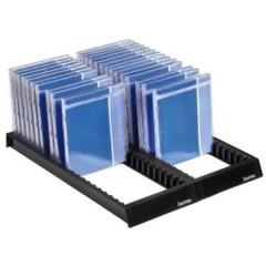 Sistema di archiviazione Flipper per CD 44 CD/DVD/Blu-ray Plastica Nero 1 pz. (L x A x P) 288 x 348 x 29 mm
