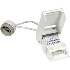 Portalampada GU10 230 V con scatola di collegamento