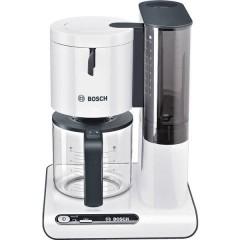 Macchina per il caffè Bianco, Antracite Capacità tazze=10 Caraffa in vetro, Funzione mantenimento