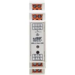 HM-LC-Sw1-DR senza fili Attuatore interruttore 1 canale Guida DIN 1380 W