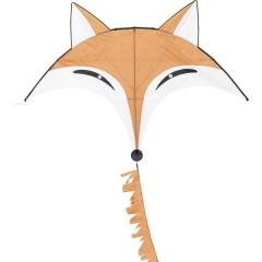 Monofilo Aquilone statico Fox Kite Larghezza estensione 1450 mm Intensità del vento 2 - 4 bft