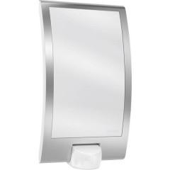 L 22 Lampada da parete per esterni con rilevatore di movimento LED (monocolore) E27 60 W acciaio inox