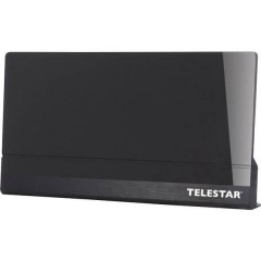Antenna 9 Antenna attiva piatta DVB-T/T2 Ambiente interno Guadagno: 45 dB Nero