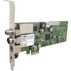 HVR-5525HD DVB-C (cavo), DVB-S (Sat), DVB-T (antenna), DVB-T2 (antenna), Twin Tuner, analogico PCIe-Scheda