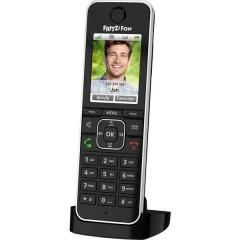 FRITZ!FON C6 Black Edition Telefono cordless VoIP Segreteria telefonica, Telefono per bambini (babyphone), Vivavoce,