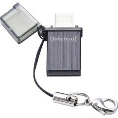 Mini MOBILE LINE Memoria ausiliaria USB per Smartphone e Tablet Nero 8 GB USB 2.0, Micro USB 2.0