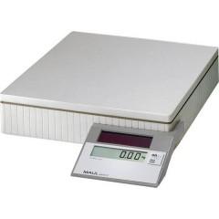MAULparcel S 50 Bilancia pesa pacchi Portata max. 50 kg Risoluzione 10 g, 50 g a energia solare Grigio