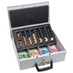 Cassetta portavalori (L x A x P) 355 x 100 x 275 mm Grigio luminescente