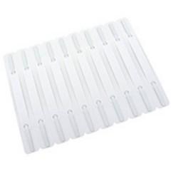 Pressini fermafogli Bianco Quantità confezione:100 Pz/confezione 100 pz.