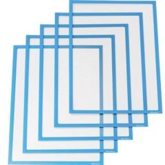 Cartellina per documenti DIN A4 Blu 5 pz.