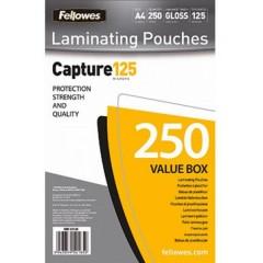 Pellicola per plastificazione DIN A4 125 micron lucida 250 pz.