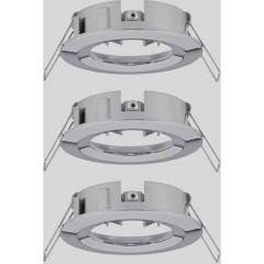 EBL Choose Anello di montaggio Kit da 3 10 W Cromo