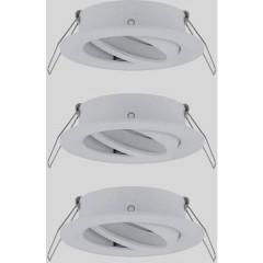 EBL Choose Anello di montaggio Kit da 3 10 W Bianco