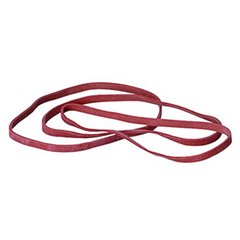 Elastici Caucciù Larghezza 4 mm (Ø) 150 mm Rosso 1000 g sacchetto di plastica