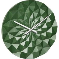 Quarzo Orologio da parete 396 mm x 44 mm Verde (metallico)