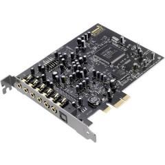 SoundBlaster Audigy RX 7.1 Scheda audio interna PCIe x1 uscita digitale, collegamento esterno per cuffie