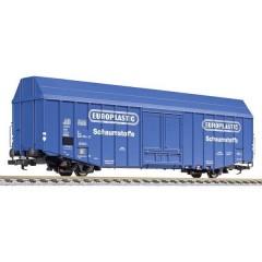 Vagone merci H0 per grandi spazi Hbks EUROPALASTIC di DB