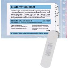 Kit di ricarica aluderm®-aluplast per cerotti 30 strisce 7,2 x 1,9 cm