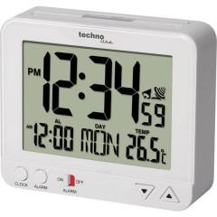 Radiocontrollato Sveglia Bianco Tempi di allarme 1