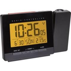 Radiocontrollato Sveglia digitale Nero
