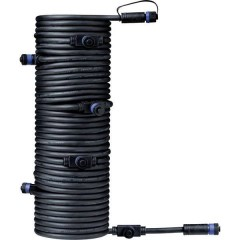 Sistema dilluminazione Plug&Shine Distributore a 7 vie Nero 24 V