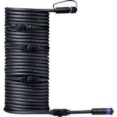 Sistema dilluminazione Plug&Shine Distributore a 5 vie Nero