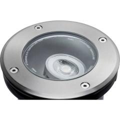 Sistema dilluminazione Plug&Shine Lampada da incasso a LED per esterni 6 W Bianco caldo Argento 20 °