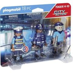 ® City Action Kit personaggi polizia
