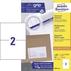 Etichette 210 x 148 mm Carta Bianco 440 pz. Permanente Etichetta universale Inchiostro, Laser,