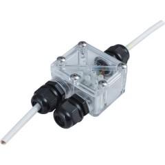 Distributore a 2 vie 230 V 4 cm Trasparente