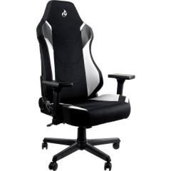 X1000 Sedia da gioco Nero/Bianco