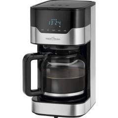 PC-KA 1169 Macchina per il caffè acciaio inox, Nero Capacità tazze=14 Caraffa in vetro