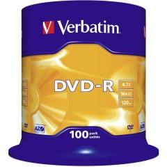 DVD-R vergine 4.7 GB 100 pz. Torre