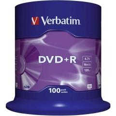 DVD+R vergine 4.7 GB 100 pz. Torre