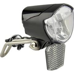 Fanale anteriore LED (monocolore) a dinamo Nero