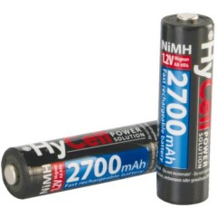 HR06 Batteria ricaricabile Stilo (AA) NiMH 2400 mAh 1.2 V 4 pz.