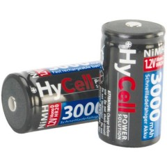HR20 Batteria ricaricabile Torcia (D) NiMH 3000 mAh 1.2 V 2 pz.