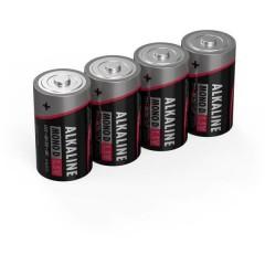 LR20 Red-Line Batteria Torcia (D) Alcalina/manganese 1.5 V 4 pz.