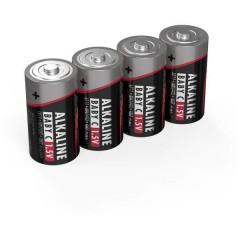 LR14 Red-Line Batteria 1/2 Torcia (C) Alcalina/manganese 1.5 V 4 pz.