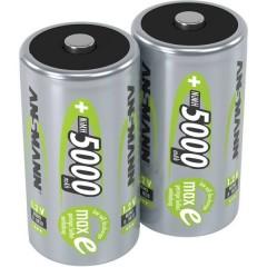 maxE HR20 Batteria ricaricabile Torcia (D) NiMH 5000 mAh 1.2 V 2 pz.