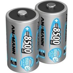 maxE HR20 Batteria ricaricabile Torcia (D) NiMH 8500 mAh 1.2 V 2 pz.