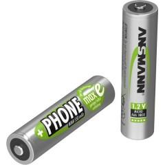 DECT maxE HR03 Batteria ricaricabile Ministilo (AAA) NiMH 550 mAh 1.2 V 2 pz.